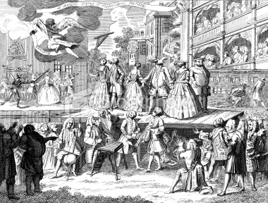 The use of comedy and parody in the beggars opera by john gay
